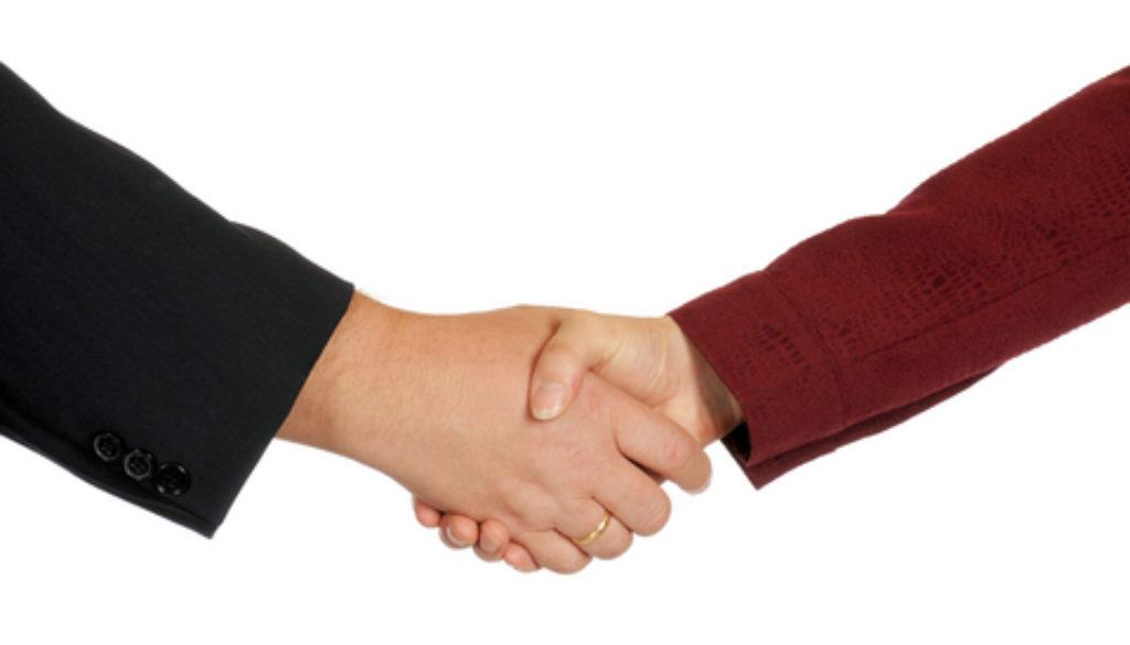 \Professional handshake\