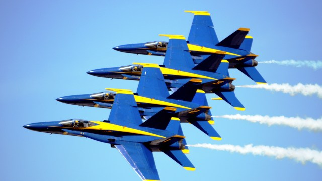 U.S. Navy Blue Angels show what strategic alignment means