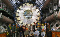 \CERN teamwork installing Atlas\