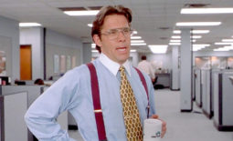 \The bad boss from the movie Office Space\
